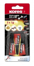 Power Glue Gel 3x1g